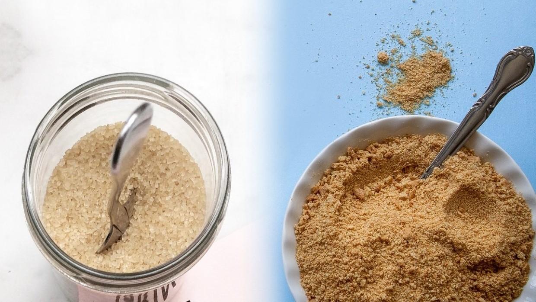Qual a diferença entre açúcar mascavo e açúcar demerara? - Da Magrinha   100% INTEGRAL - Alimentação Integral - Granolas, Cookies, Snacks e  Complementos Alimentares